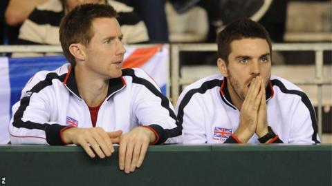 Jonny Marray (left) and Colin Fleming