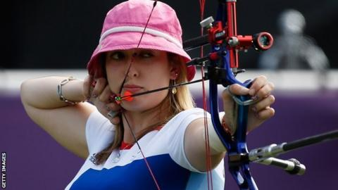 GB archer Danielle Brown