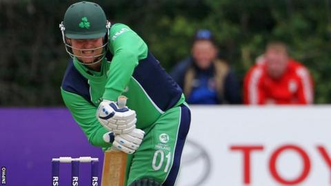 Paul Stirling's half-century helped Ireland win their latest warm-up game in Dubai