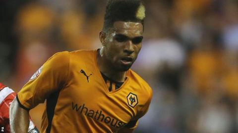 Wolves defender Scott Golbourne