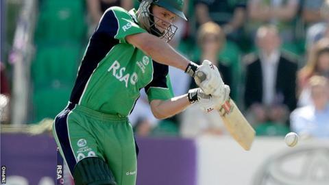 William Porterfield starred in Ireland's win over the Netherlands