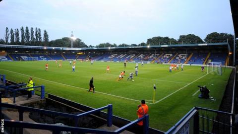 Gigg Lane, home of Bury FC
