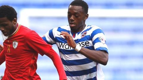 Reading reserve striker Gozie Ugwu