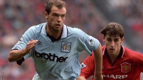 Uwe Rosler and Gary Neville