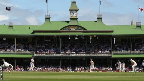 The Sydney Cricket Ground's pavilion
