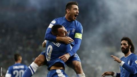 Greece beat Romania