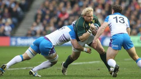 Scotland 0-28 South Africa