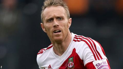 Wrexham striker Brett Ormerod