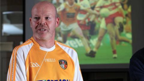 Anto Finnegan was diagnosed with motor neurone disease in August 2012