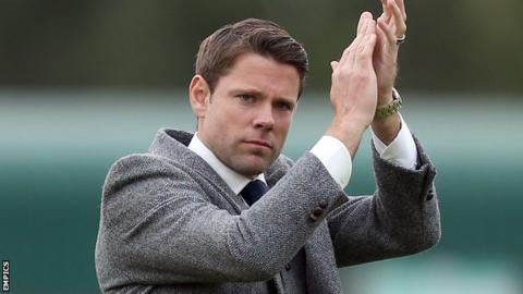 Accrington Stanley boss James Beattie