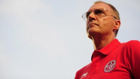 CS Sfaxien coach Ruud Krol