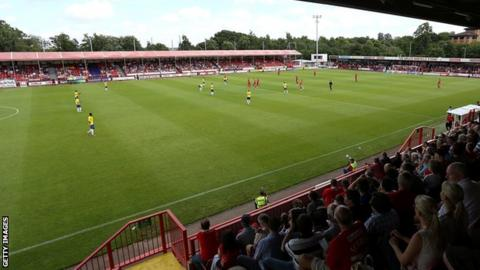 Crawley Town's Checkatrade.com Stadium