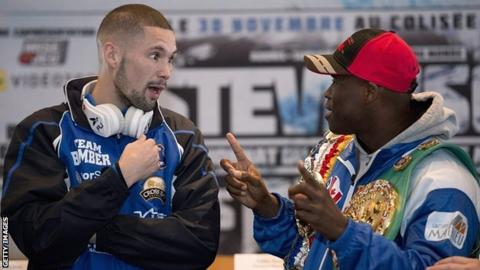 Tony Bellew and Adonis Stevenson
