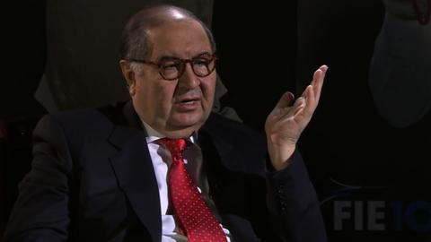 Arsenal investor Alisher Usmanov