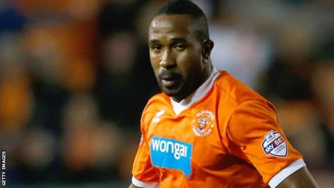 Blackpool's Ricardo Fuller