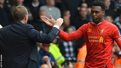 Brendan Rodgers and Daniel Sturridge