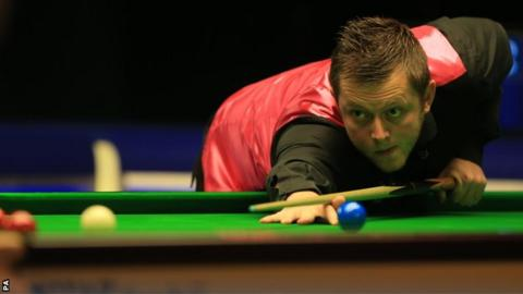 Mark Allen has not been at his best this season