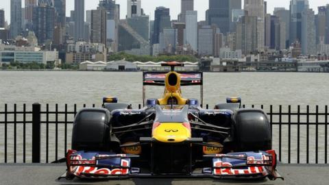 Red Bull Formula 1 car