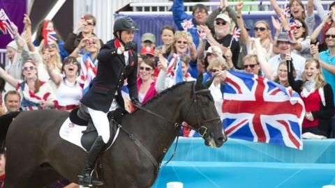 Ben Maher at the 2012 Olympics