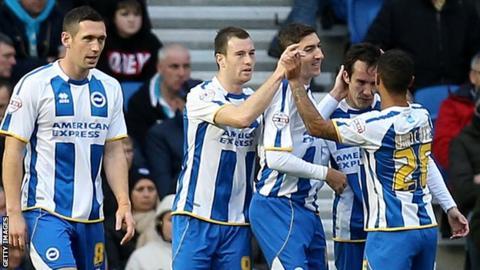 Brighton goal
