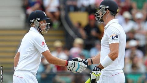 Joe Root and Kevin Pietersen