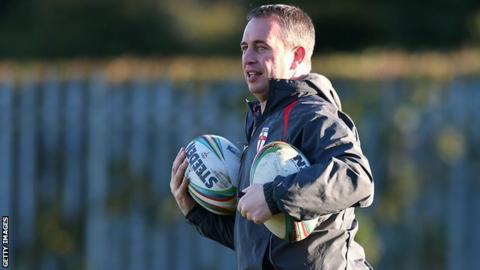 England rugby league coach Steve McNamara