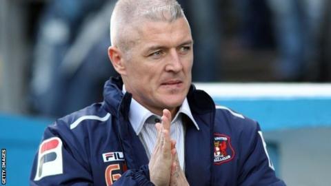 Carlisle United manager Graham Kavanagh