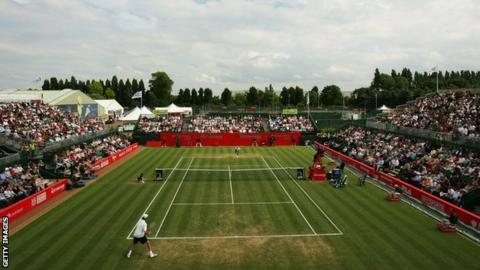 The 2007 Nottingham Open at Nottingham Tennis Centre