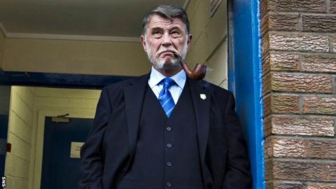 Former Rangers vice-chairman Donald Findlay
