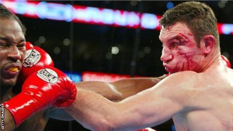 Vitali Klitschko versus Lennox Lewis