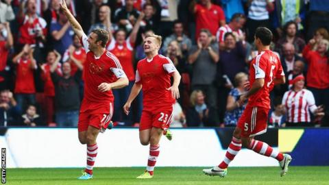 Rickie Lambert has been one of Southampton's success stories