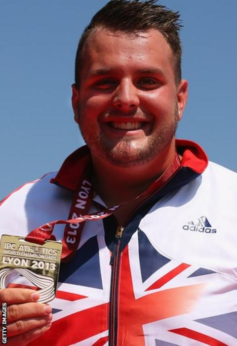 Paralympian Aled Sion Davies, won two gold medals at the IPC Athletics World Championships in Lyon in July, setting a new world record to win the F42 shot.