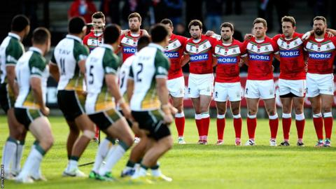 Wales had a disappointing Rugby League World Cup, falling to reach the quarter-finals after defeats to Italy, the United States and the Cook Islands (above).
