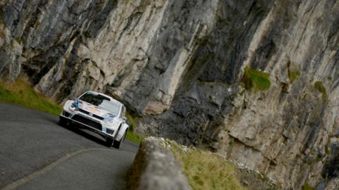 North and mid Wales hosted the Wales Rally GB, won by World Champion Sebastien Ogier, pictured here during the final stage in Llandudno.