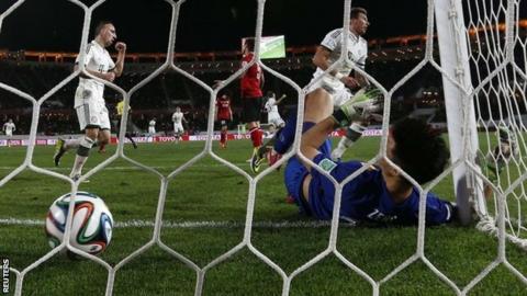 Bayern Munich score