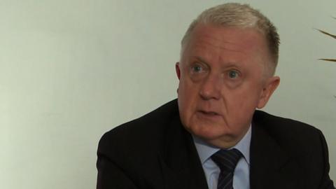Former UCI president Hein Verbruggen