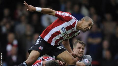 Brentford forward Farid El Alagui