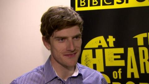 Martyn Irvine 'surprised' by BBC NI 2013 Sports Personality honour