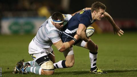 Dwayne Peel helps Sale Sharks beat London Irish 15-3 in the Aviva Premiership
