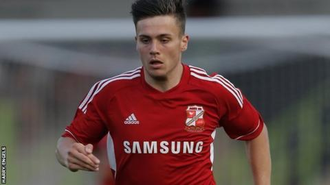Swindon's Miles Storey