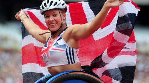 World and Paralympic champion Hannah Cockroft