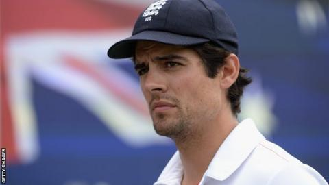 England captain Alastair Cook after losing the Third Ashes Test Match between Australia and England at WACA on December 17, 2013 in Perth, Australia.