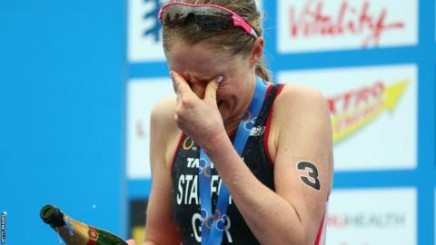 Non Stanford win the ITU World Triathlon Grand Final and becomes the 2013 ITU World Champion