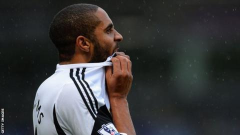 Swansea City captain Ashley Williams
