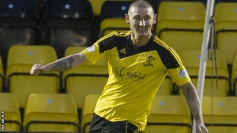 Martin Scott was on target for Livingston