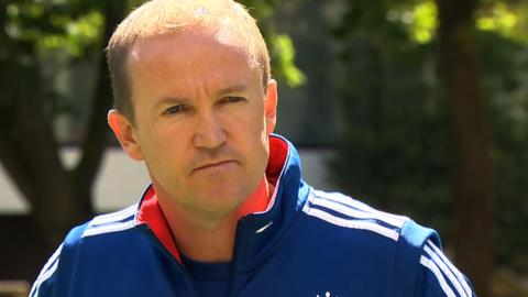 England cricket coach Andy Flower