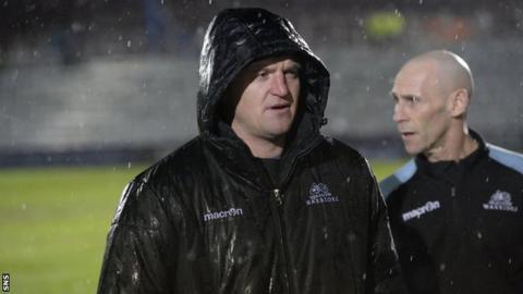 Glasgow Warriors coach Gregor Townsend