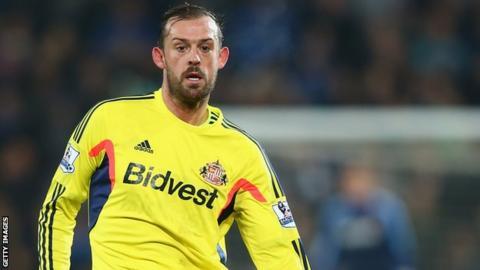 Sunderland striker Steven Fletcher