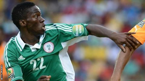 Nigeria's Kenneth Omeruo