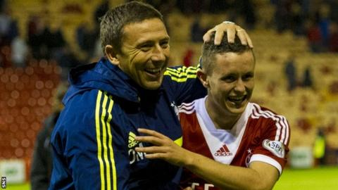 Aberdeen manager Derek McInnes has high hopes for Craig Murray